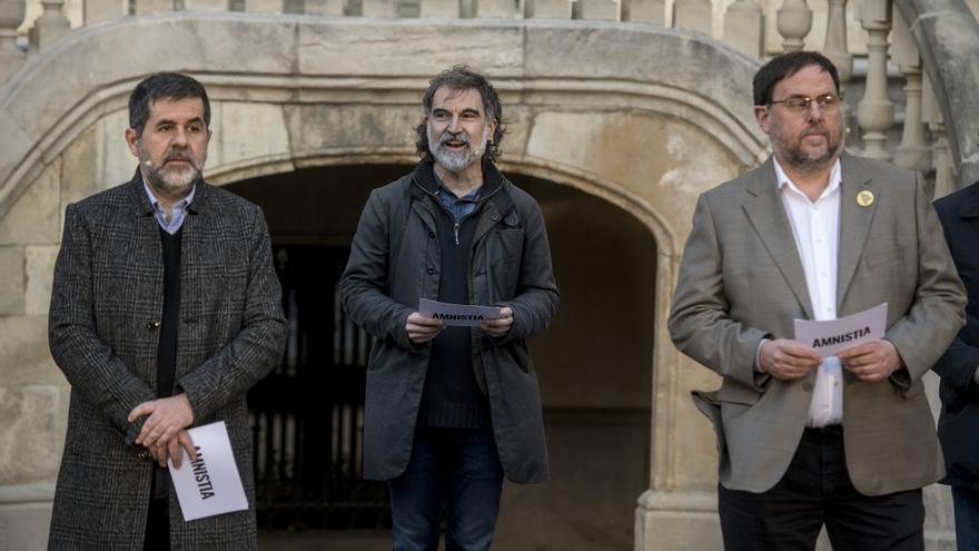 El Constitucional avala las condenas contra Jordi Cuixart y Jordi Sànchez