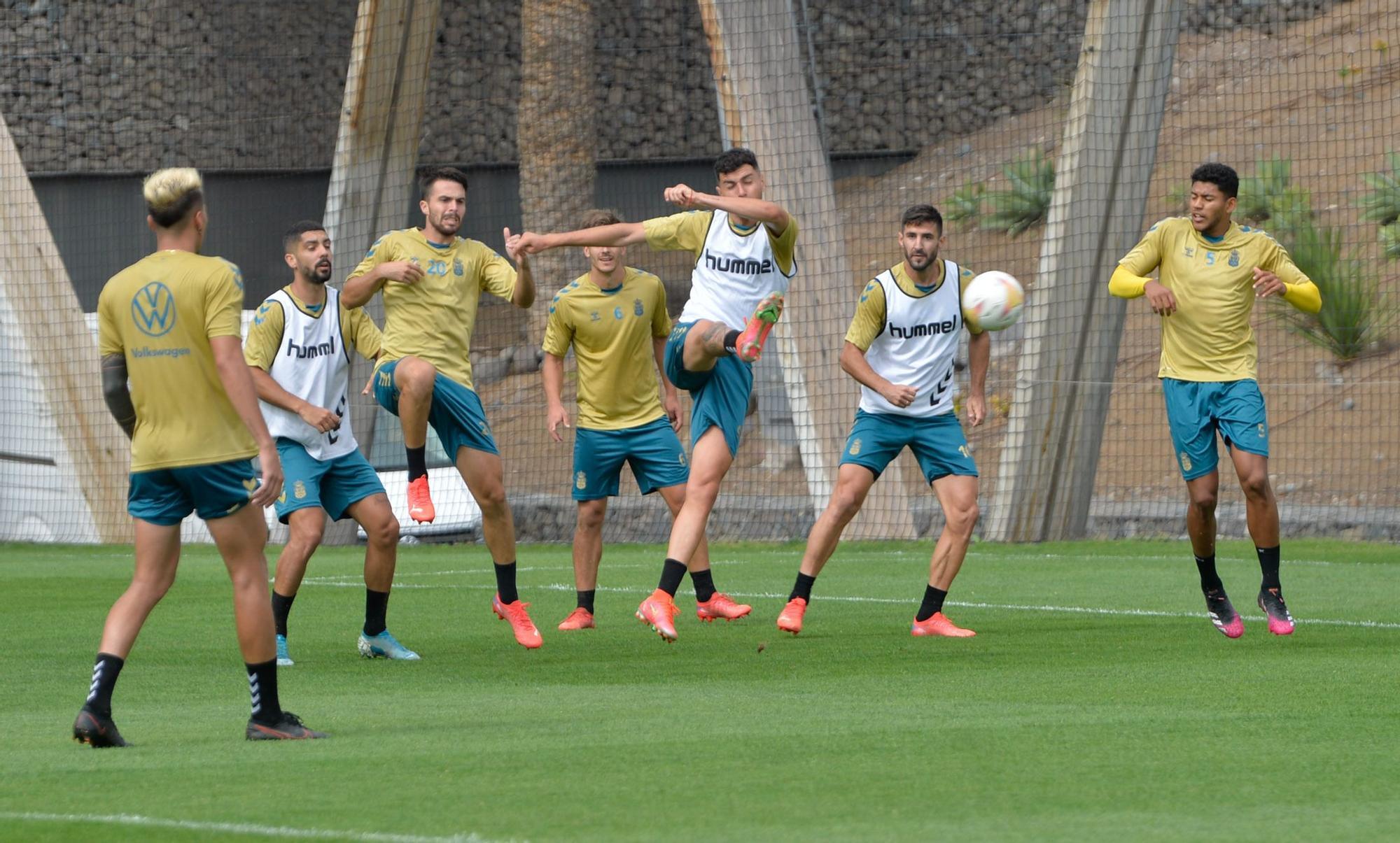 Entrenamiento de la UD Las Palmas (29/09/2021)
