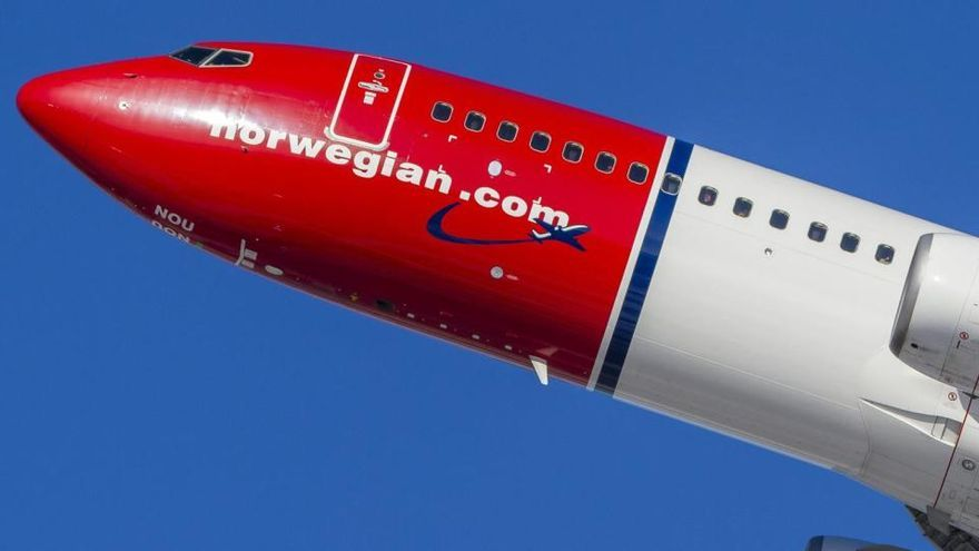 Norwegian pierde 980 millones en el tercer trimestre por el impacto de la covid