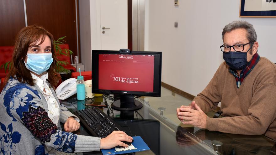 Arranca la XII Feria de Navidad de Xixona con la puesta en marcha de su plataforma online