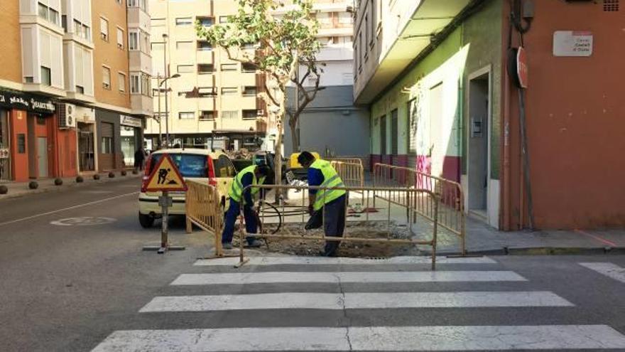 Empiezan las obras de accesibilidad en San Jorge
