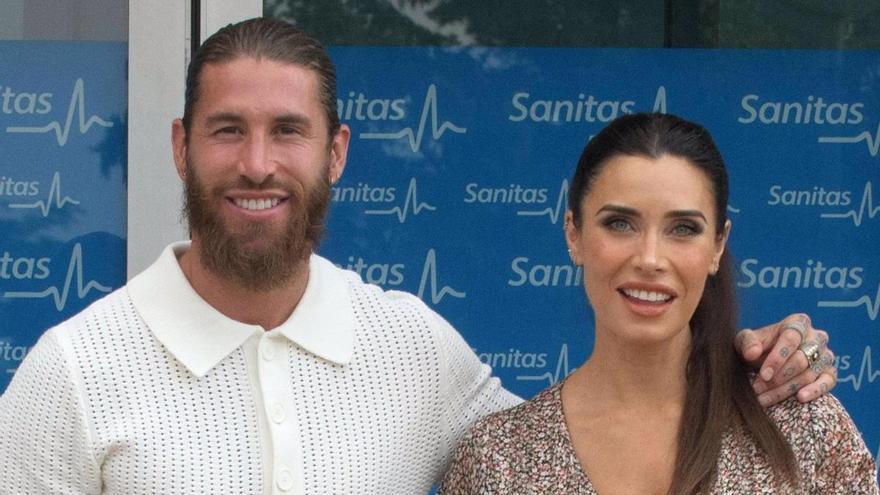 La preciosa declaración de amor de Sergio Ramos a Pilar Rubio por su santo