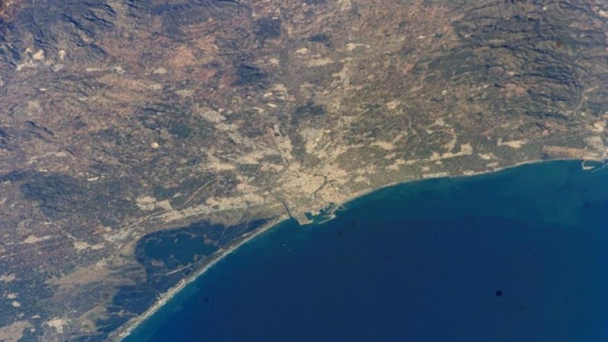 La Comunitat Valenciana, vista desde el espacio