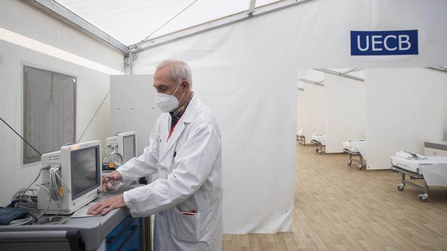 Sanitat reforzará la climatización del hospital de campaña de La Fe tras el informe con deficiencias