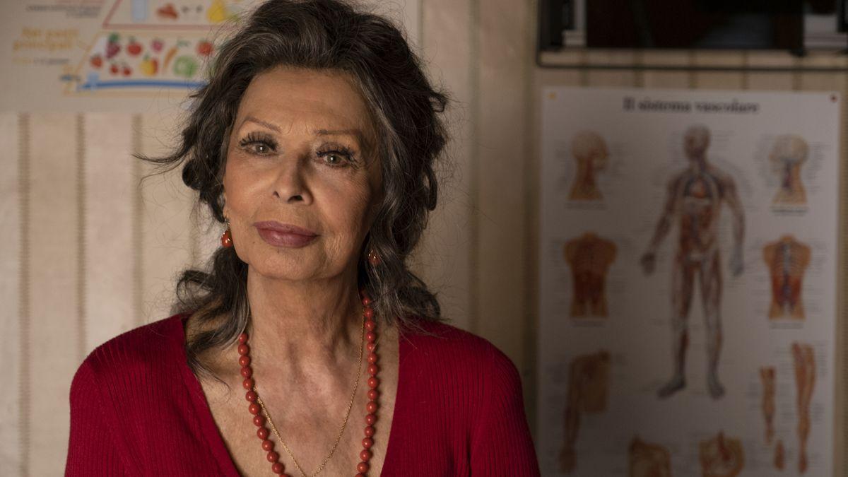 Sophia Loren regresa al cine y lo hace por la puerta grande