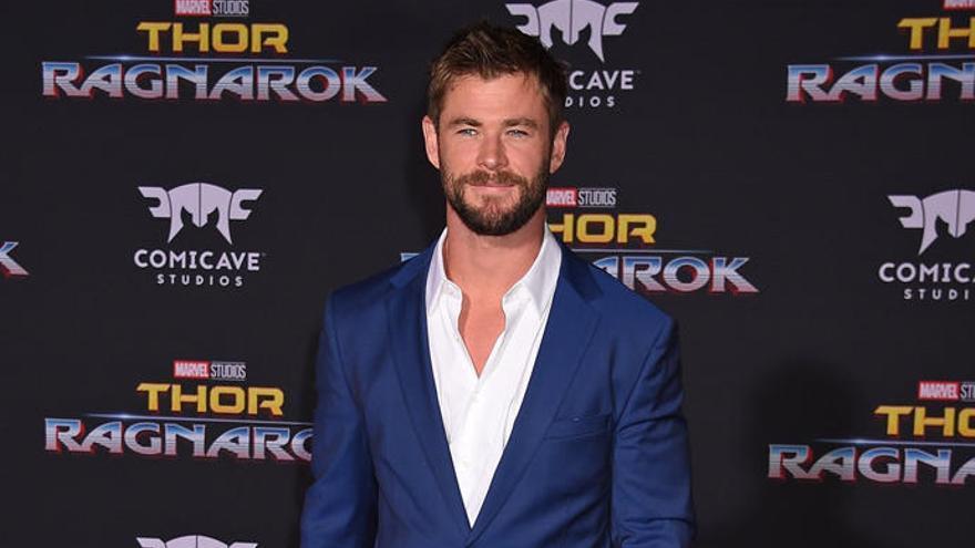 Así es el duro entrenamiento de Thor, Chris Hemsworth