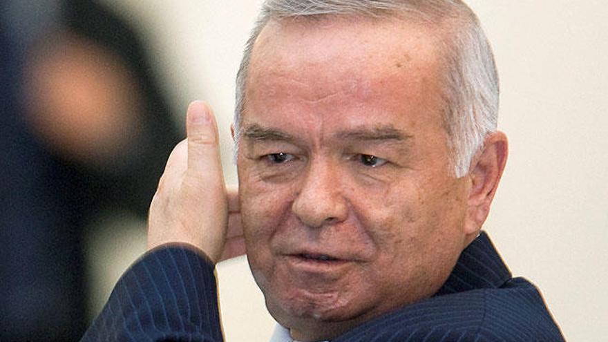 Muere el presidente de Uzbekistán, Islam Karimov