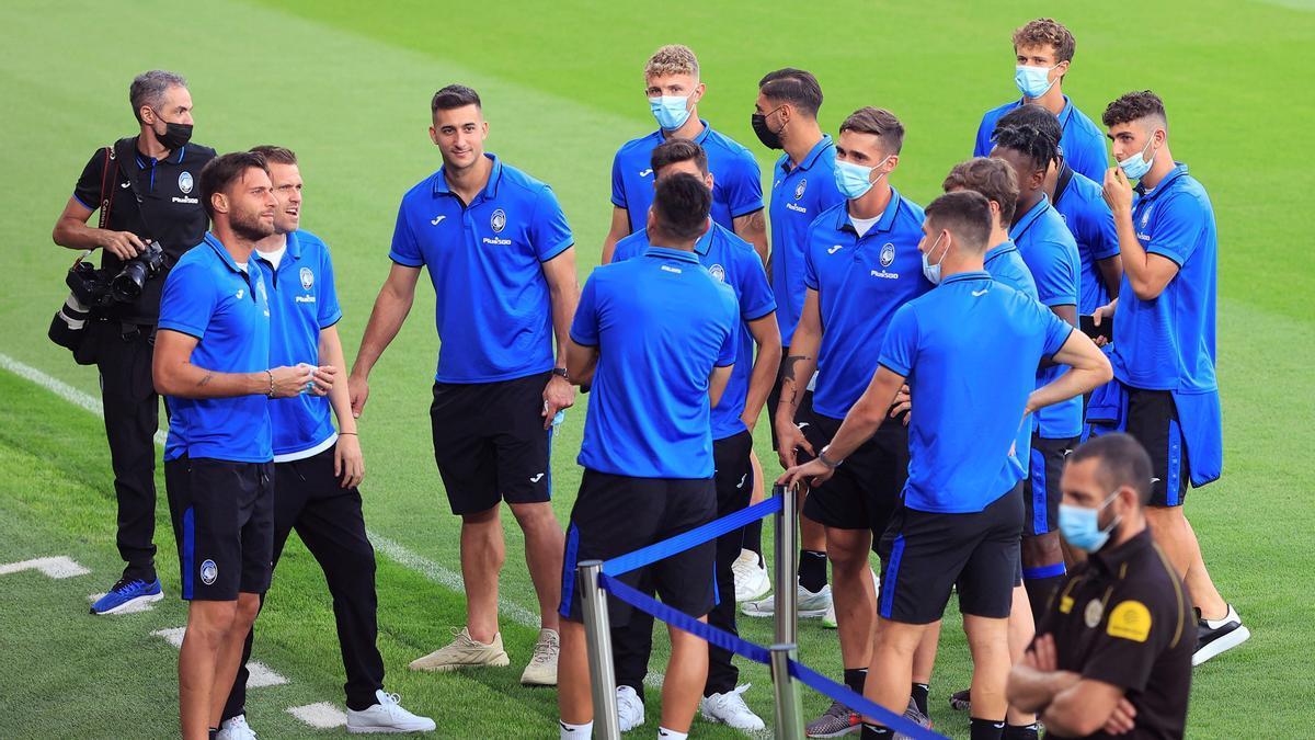 Gasperini, entrenador del Atalanta: «Nos motiva jugar contra rivales de tan alto nivel como el Villarreal»