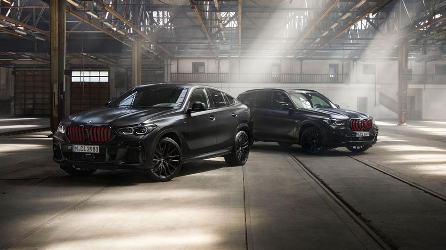 BMW X5 y BMW X6 Black Vermilion: estos son sus precios para España