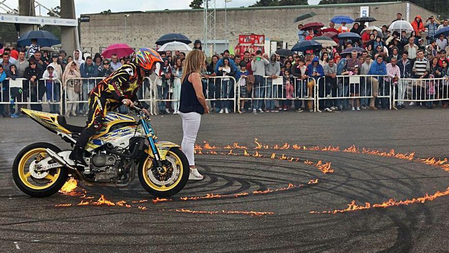 Paulo Martinho volverá a mostrar en la Semana Verde sus acrobacias sobre ruedas