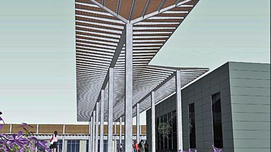 Girona tria l'empresa que va quedar tercera per construir la marquesina del parc Central