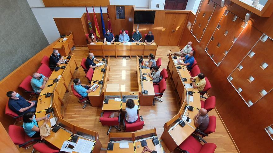 Barrenderos y jardineros no trabajarán por el calor en Lorca