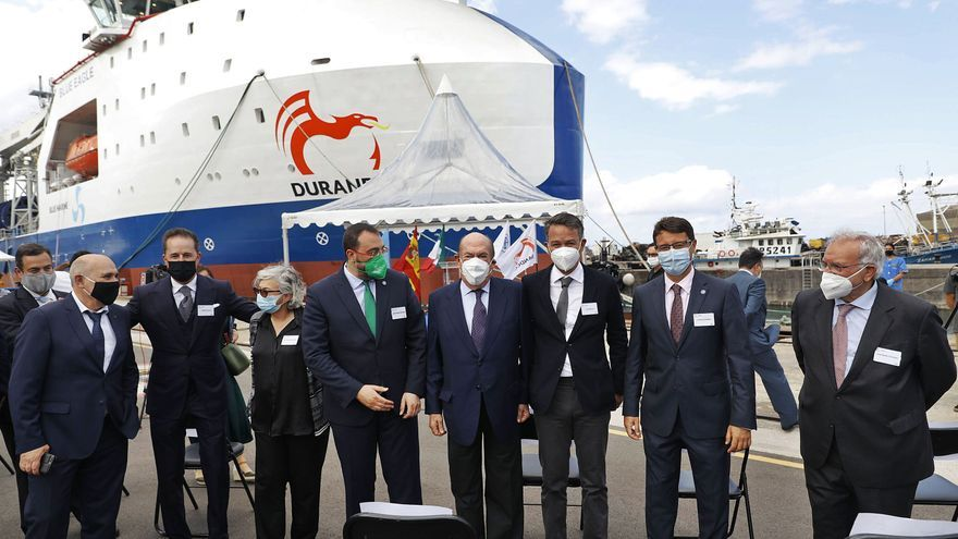 El buque gijonés que revolucionará México