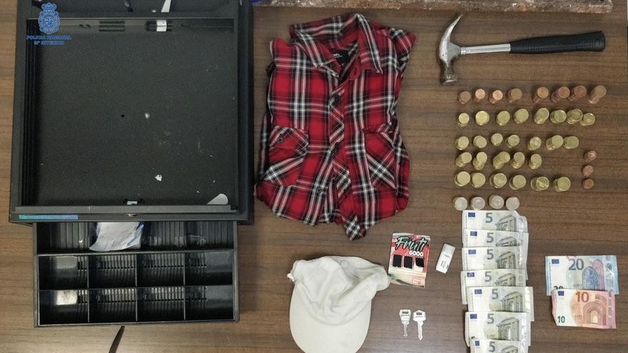 Dos detenidos por un robo de madrugada en un local de Palma