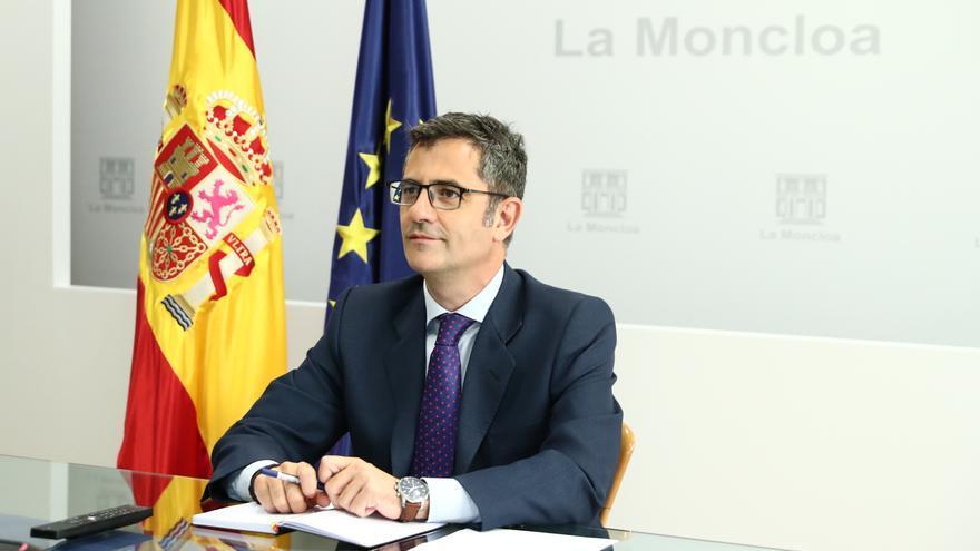 Bolaños rechaza la reforma del PP para el CGPJ y Casado pide su dimisión