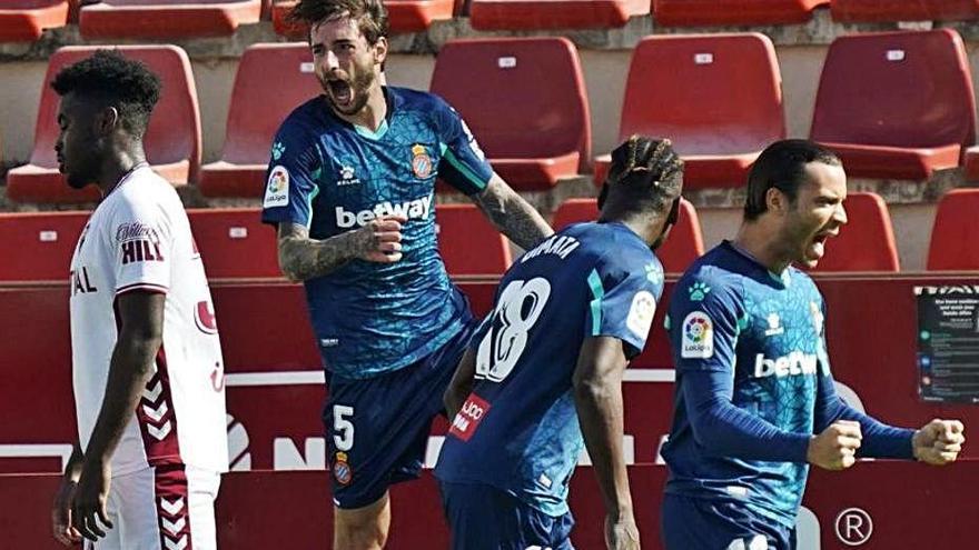 L'Espanyol agafa embranzida i el Mallorca empata a Las Palmas