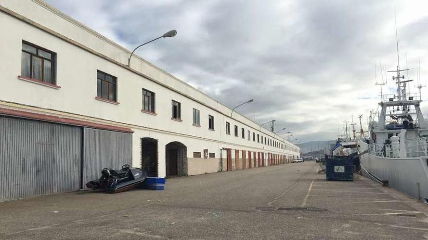 Desalojan las casetas de Bouzas para ampliar la terminal Ro-Ro