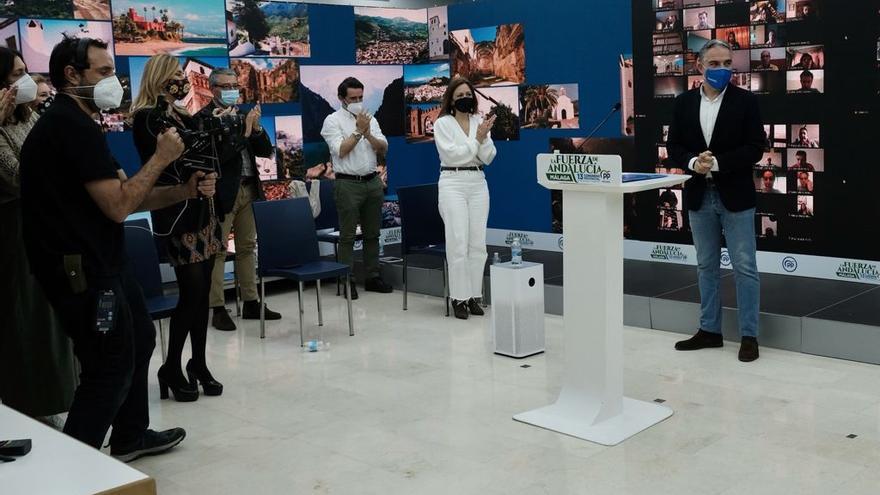 Elías Bendodo revalida con el 98% de los votos la presidencia provincial del PP