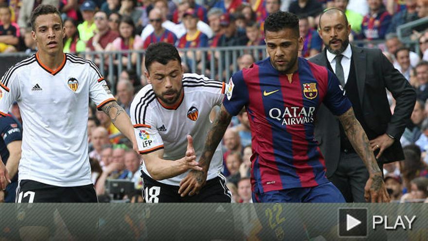 Alves acepta renovar por dos años y otro opcional