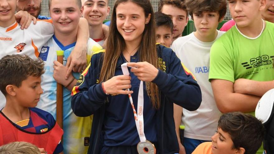 Medalla de la Federación Española para la coruñesa María Sanjurjo