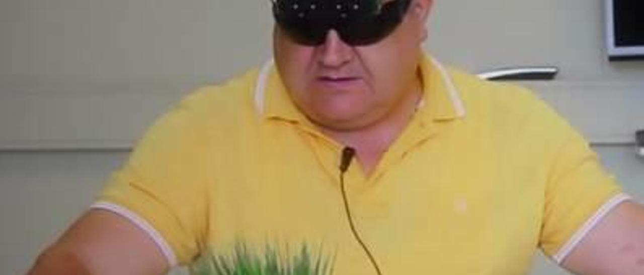 Las primeras gafas de 3D para ciegos son de Castelló
