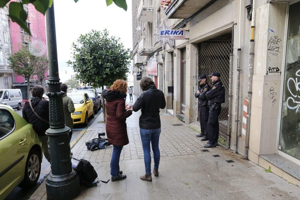 Grave tras ser apuñalada por su pareja en Vigo