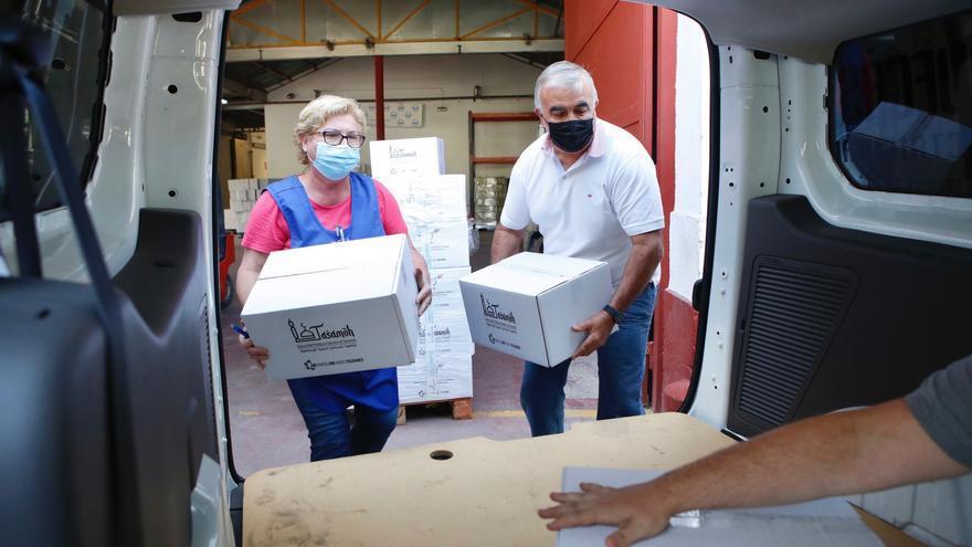 La Fundación for Islamic Culture and Religious Tolerance dona dos toneladas de alimentos a familias cordobesas