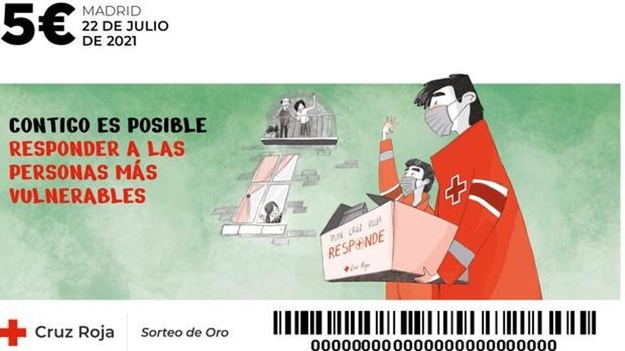 Cruz Roja destaca el respaldo de Canarias a un Sorteo del Oro que no dejó  premios