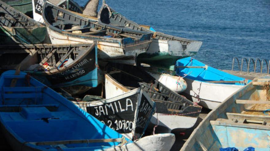 Arrestan a 45 emigrantes subsaharianos cuando salían de Dajla hacia Canarias