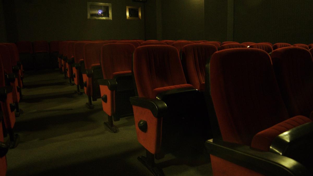Las butacas de los cines Babel de València.
