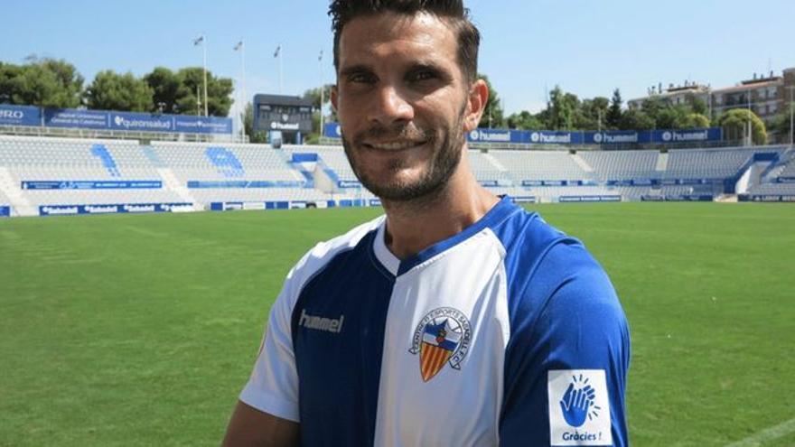 Adri Cuevas, un mediocentro con experiencia para el Badajoz