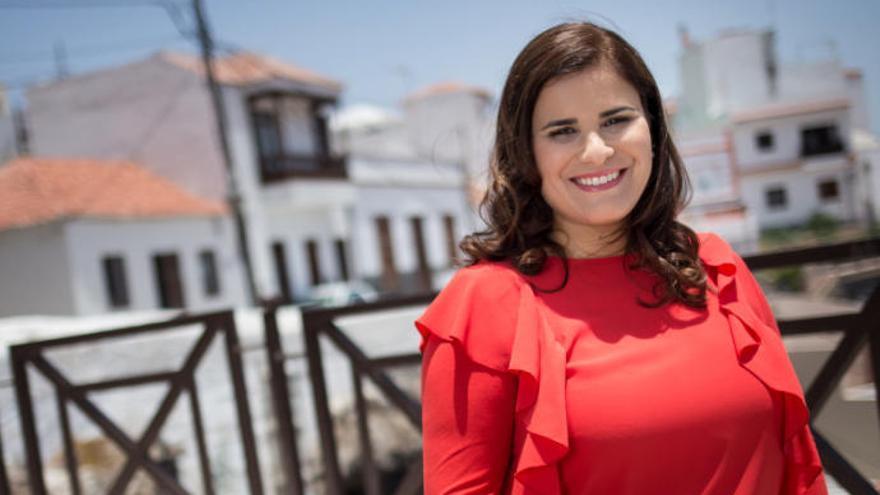 """María Concepción Brito: """"La reconstrucción no será posible sin los Ayuntamientos"""""""