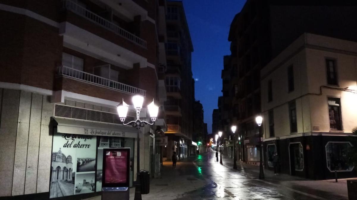 San Torcuato, en Zamora capital.