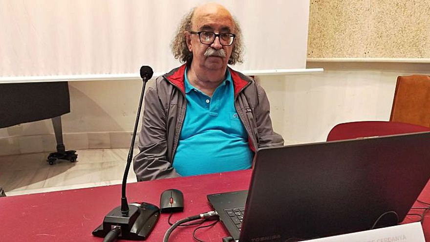 L'egiptòleg Josep Padró explica a Puigcerdà el mite de l'Atlàntida