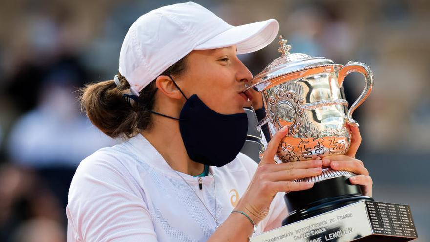 La jove polonesa Iga Swiatek fa història a la final del Roland Garros
