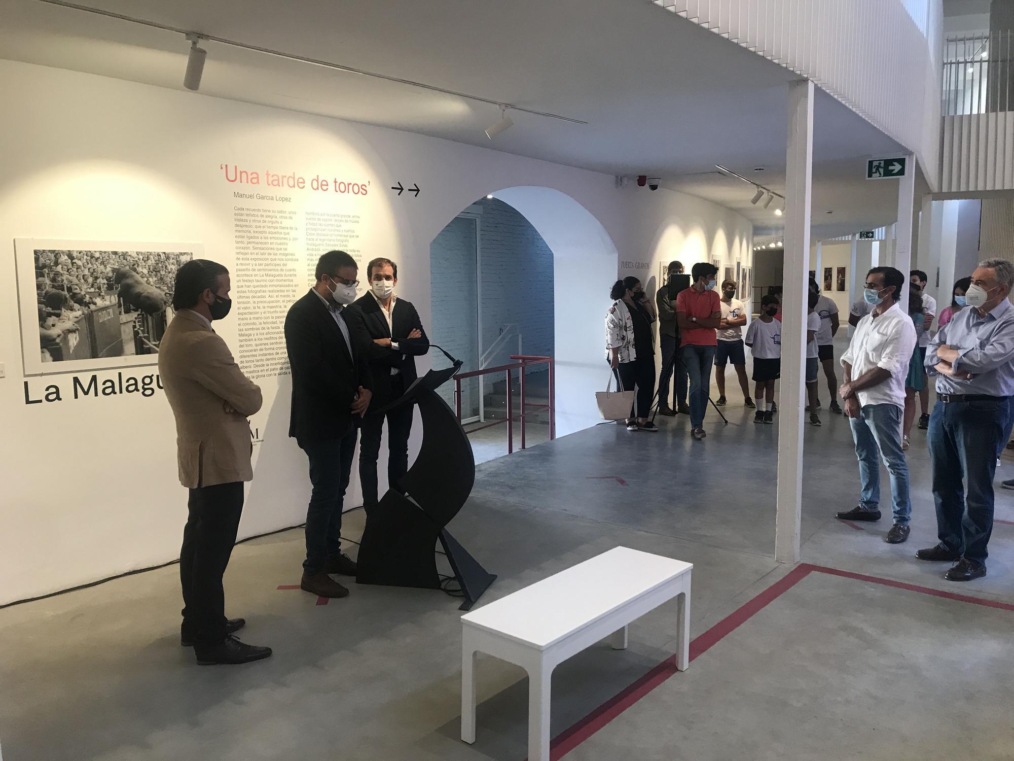 Exposición 'Una tarde de toros' en el espacio cultural de La Malagueta