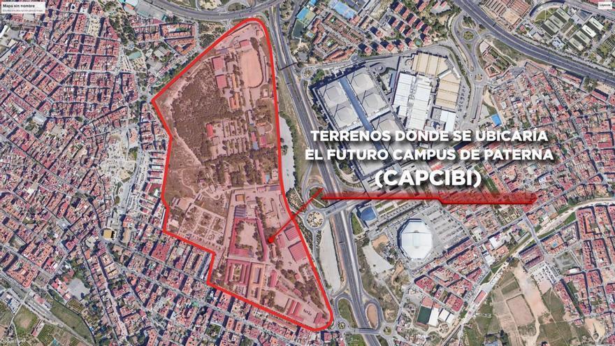 Paterna optará a los fondos europeos para construir un complejo de FP en los cuarteles militares