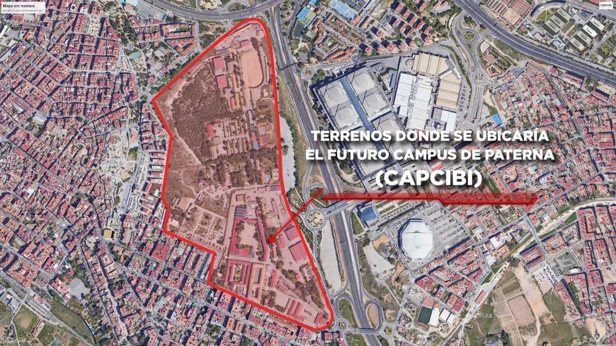 Futuro campus FP en los cuarteles militares