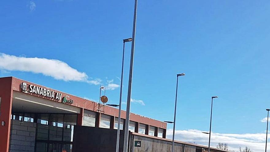La estación del AVE de Otero, más cerca de su apertura