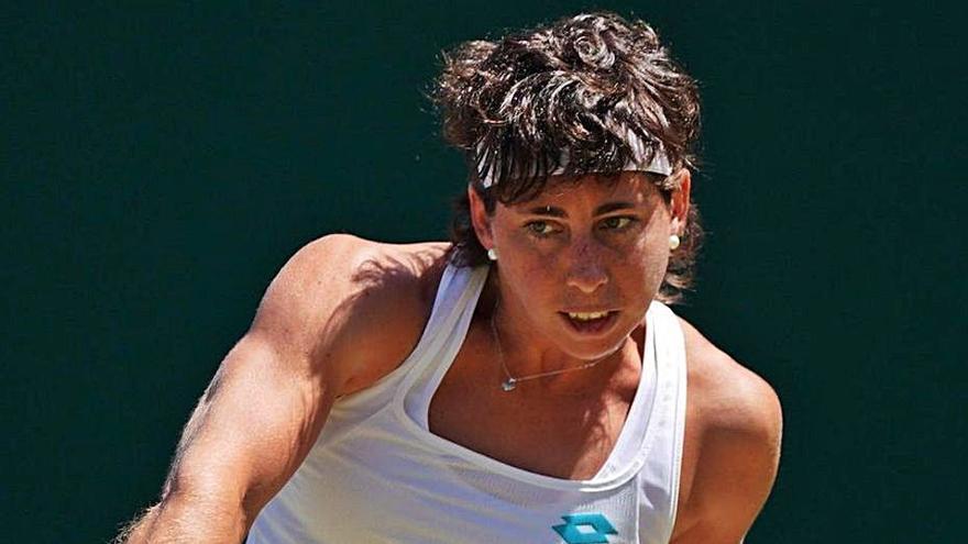 Carla y su último 'baile' en  el All England Tennis Club