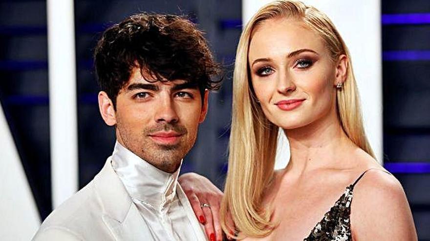 Jonas y Turner repetirán boda en Europa
