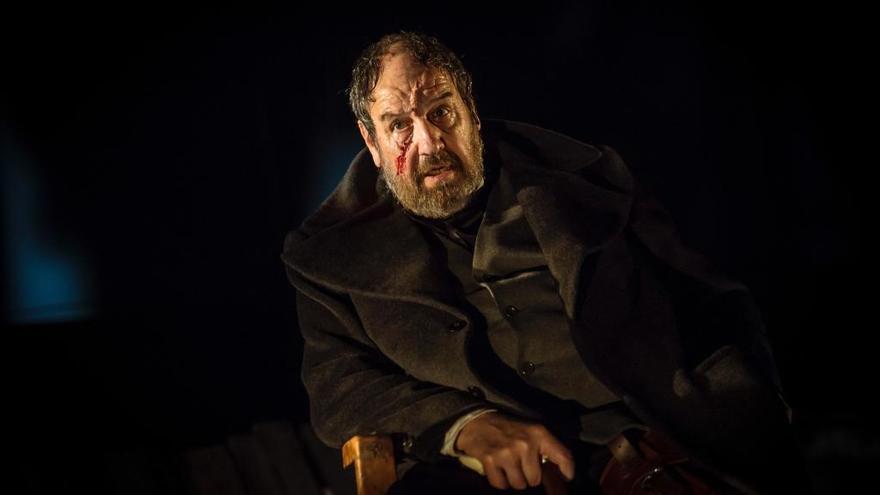 José María Pou regresa al Cuyás como el capitán Ahab en el montaje 'Moby Dick'