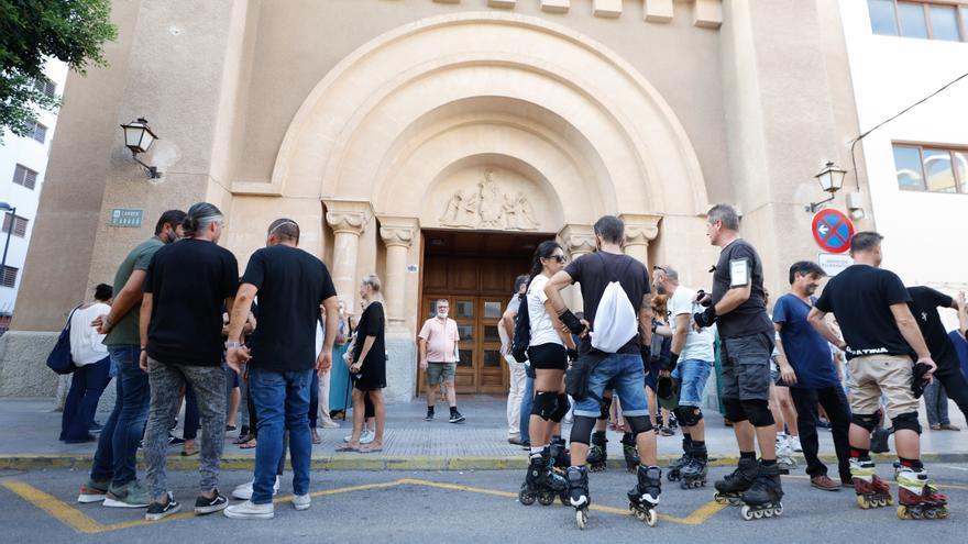Música y patines en el adiós a Rai Catany