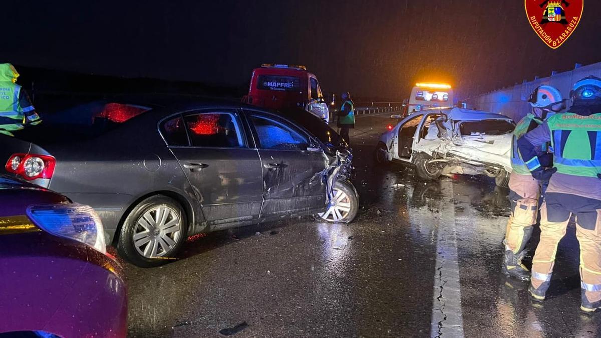 Accidente en Longares.