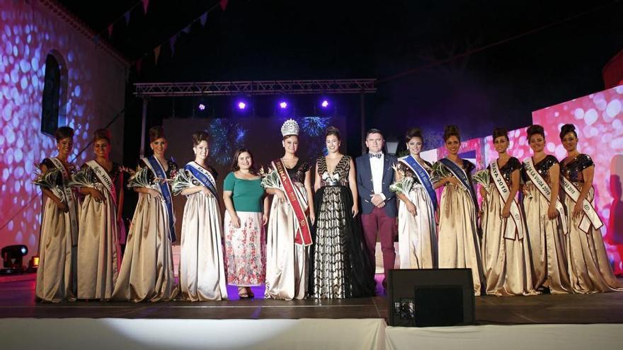 Noelia Naya Fernández, reina de las fiestas de Santa Ana y El Carmen 2019