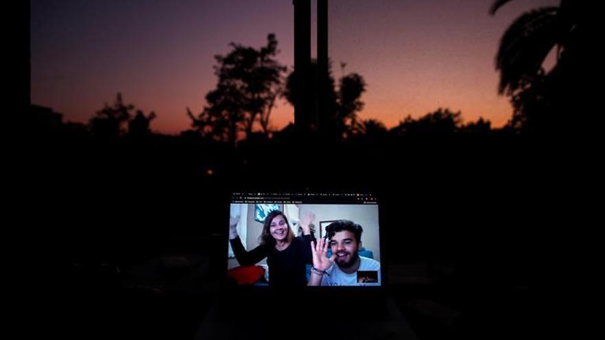 El confinamiento hace que arrasen las videollamadas en grupo