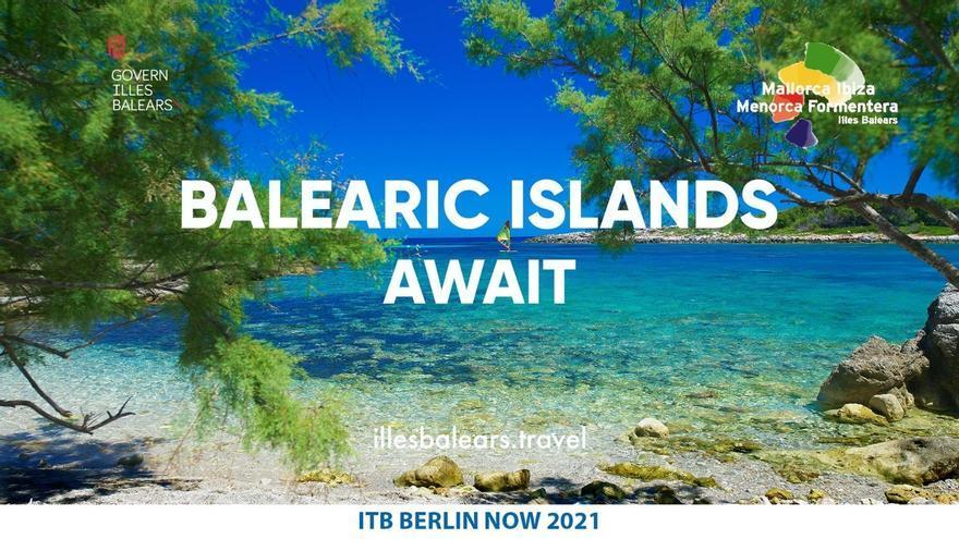 Baleares participará en la edición virtual de ITB de Berlín con el fin de impulsar la reactivación turística