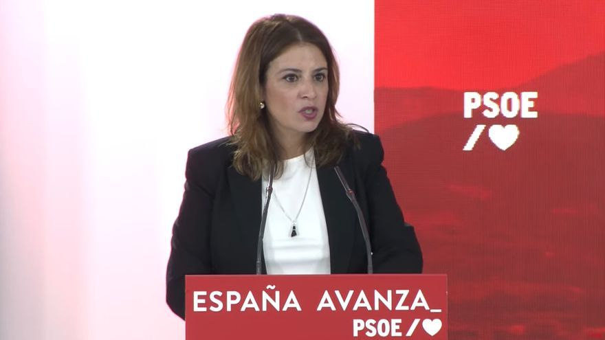 """Adriana Lastra afirma que la convención del PP ha servido para insultar hasta al papa: """"No les ha quedado nadie"""""""