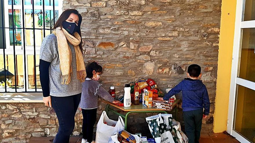 El CRA Riofrío de Aliste (Zamora) firma su compromiso social