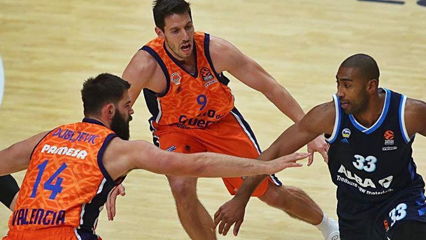 La Euroliga vuelve a dar la espalda al Valencia Basket